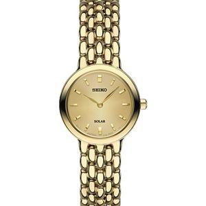 Gold Seiko Solar Watch - Women